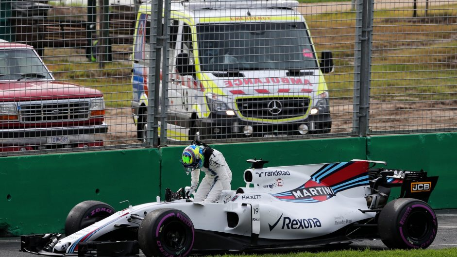 Felipe Massa, Williams, Albert Park, 2017