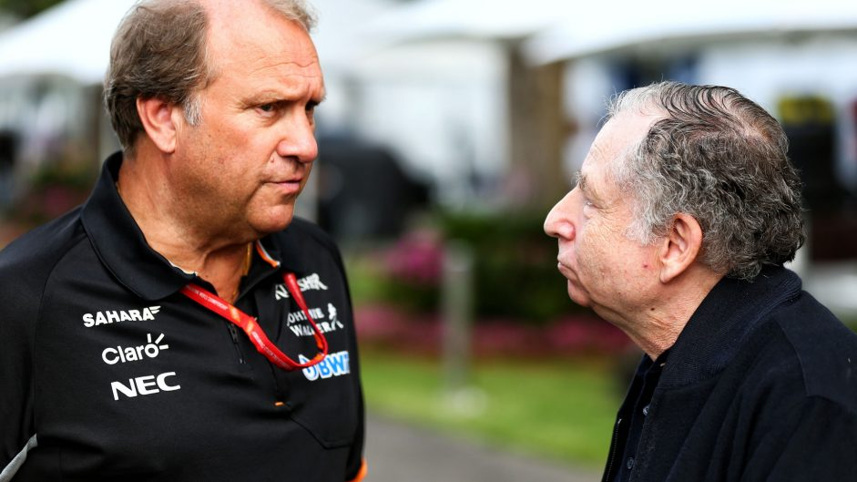 Robert Fernley, Jean Todt, Albert Park, 2017