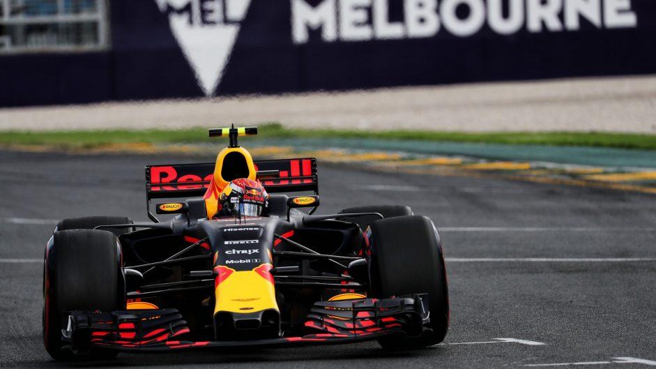 Max Verstappen, Red Bull, Albert Park, 2017