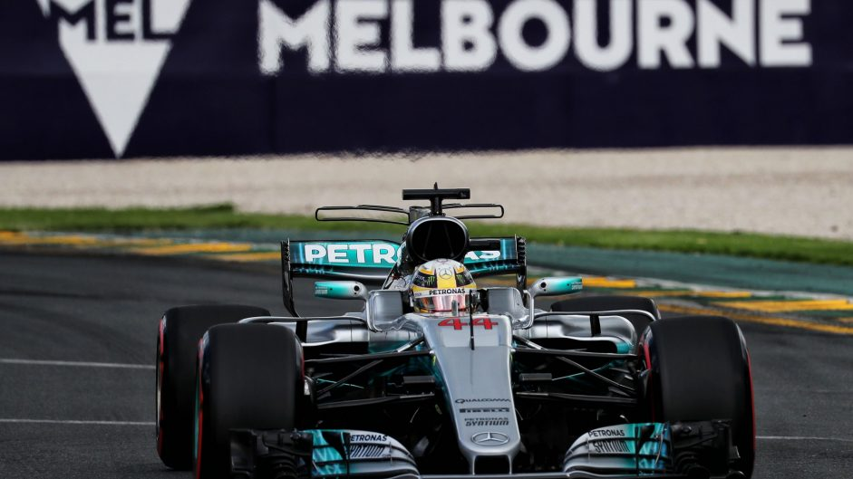 2017 Australian Grand Prix grid