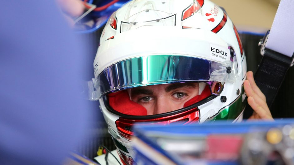 """Giovinazzi delighted after """"special"""" F1 debut"""