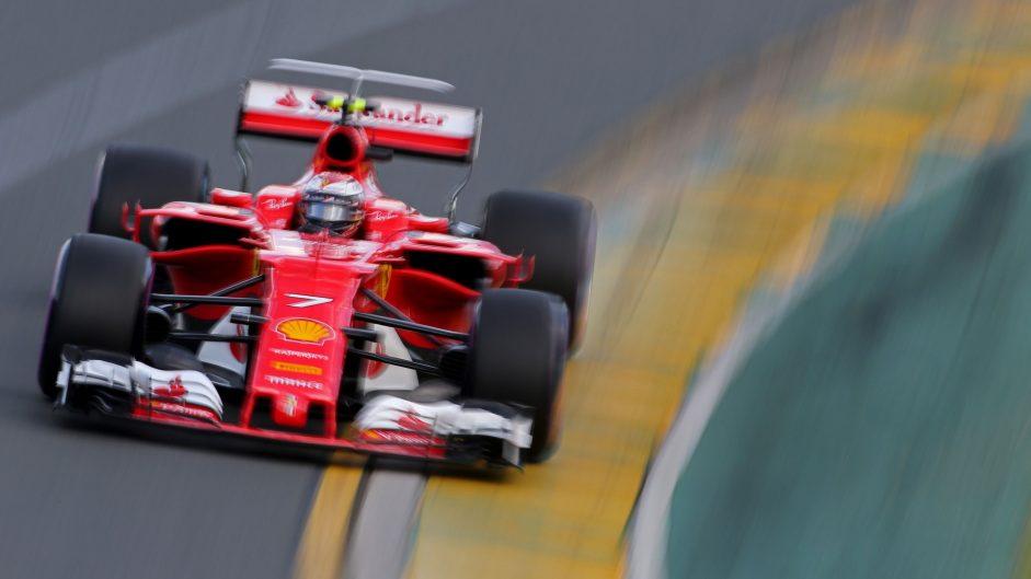 "Raikkonen pleased by Ferrari pace despite ""messy"" qualifying"