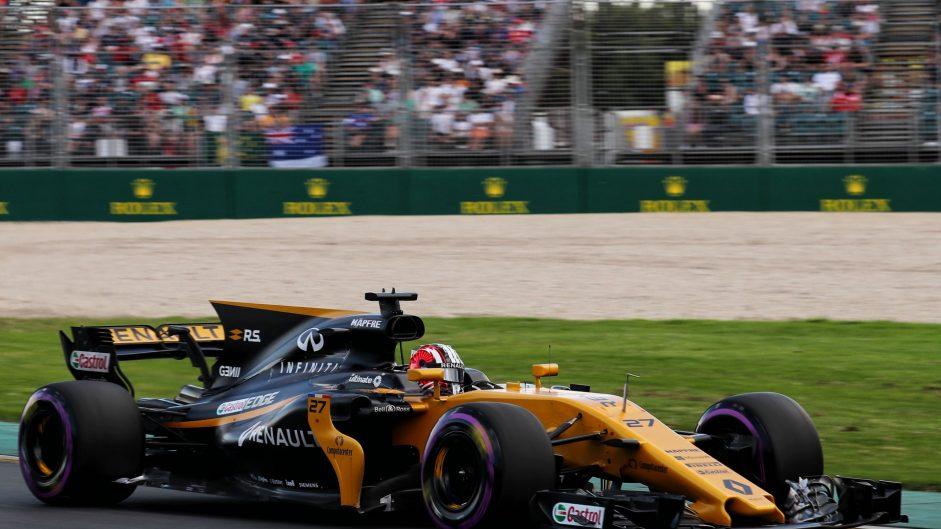 Nico Hulkenberg, Renault, Albert Park, 2017