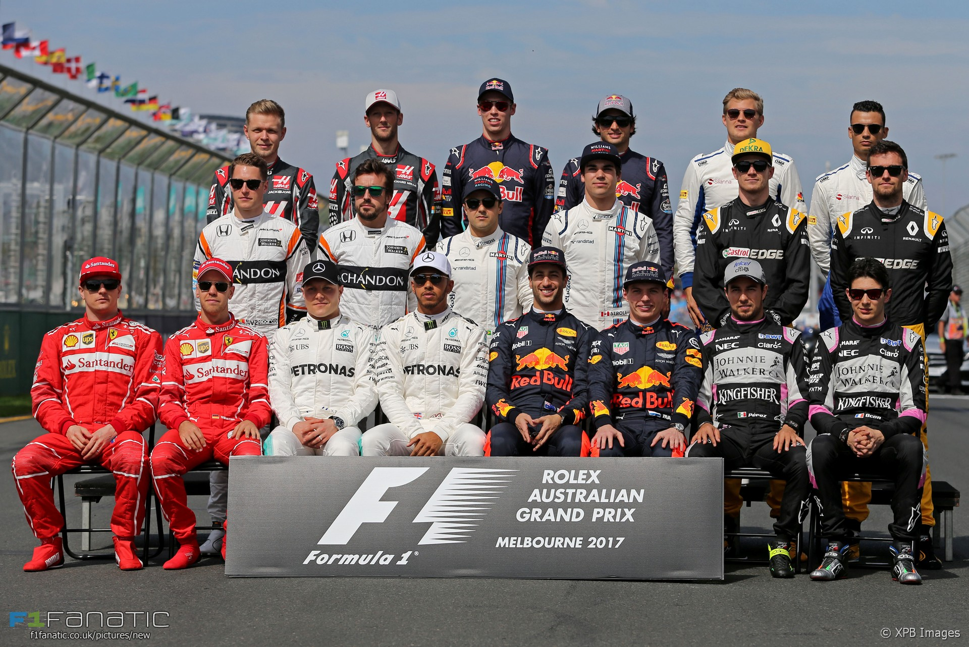 drivers group photographs f1 fanatic. Black Bedroom Furniture Sets. Home Design Ideas