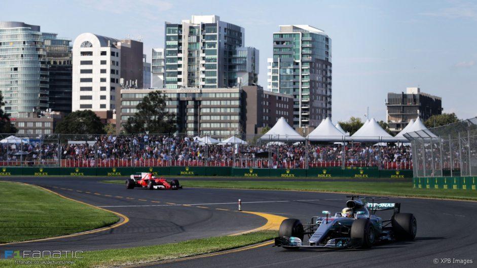 Lewis Hamilton, Mercedes, Albert Park, 2017