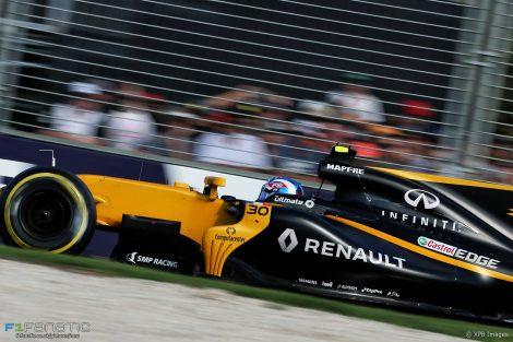 Jolyon Palmer, Renault, Albert Park, 2017