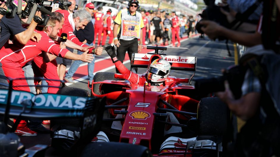 2017 Australian Grand Prix race result
