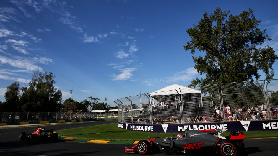 Kevin Magnussen, Haas, Albert Park, 2017