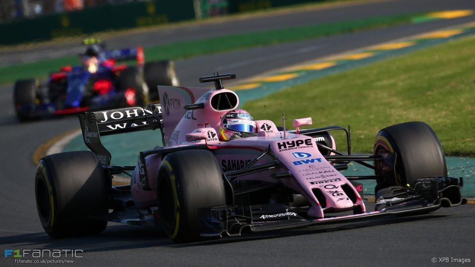 Perez: Force India beat quicker cars in Australia