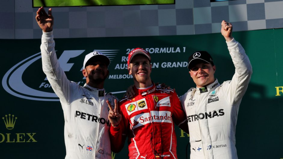 "Vettel: ""I still believe Mercedes are ahead"""