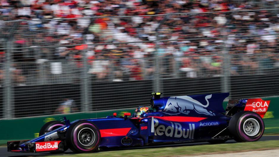 Carlos Sainz Jnr, Toro Rosso, Albert Park, 2017