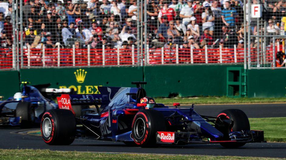 Daniil Kvyat, Toro Rosso, Albert Park, 2017
