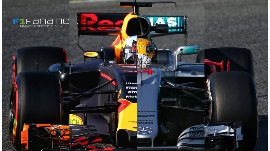 Interactive: Compare every F1 car on the 2017 grid