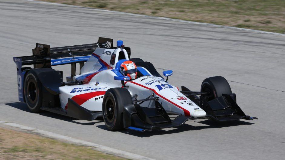 Ed Jones. Foyt, IndyCar, 2017