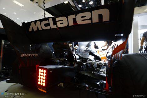 McLaren MCL32, Albert Park, 2017
