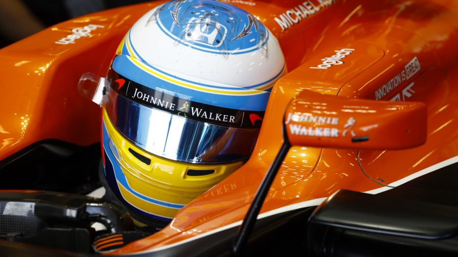 "Alonso says 13th is a ""big surprise"" for McLaren"