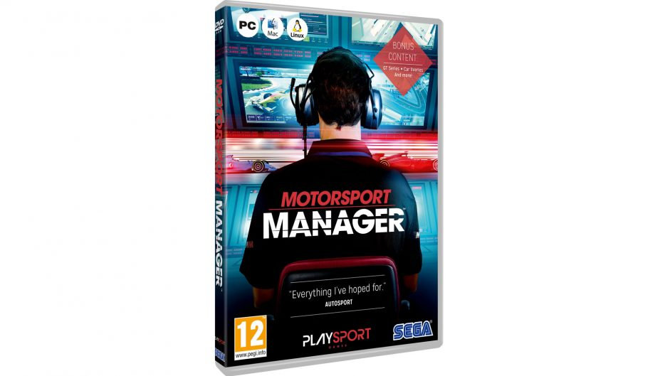 Win one of ten boxed, deluxe editions of Motorsport Manager
