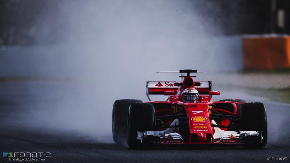 """New wet weather tyre performance """"unknown"""" – Raikkonen"""