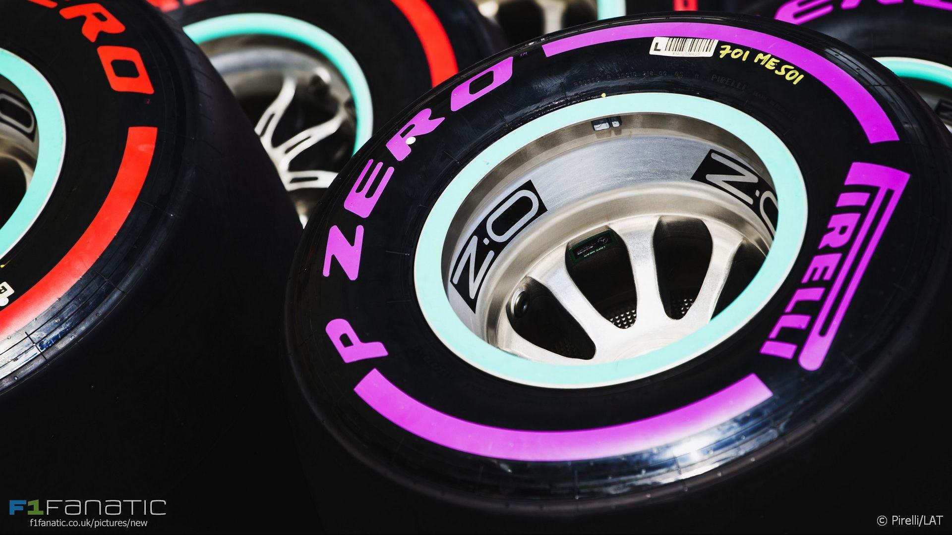 Tyres, Circuit de Catalunya, 2017