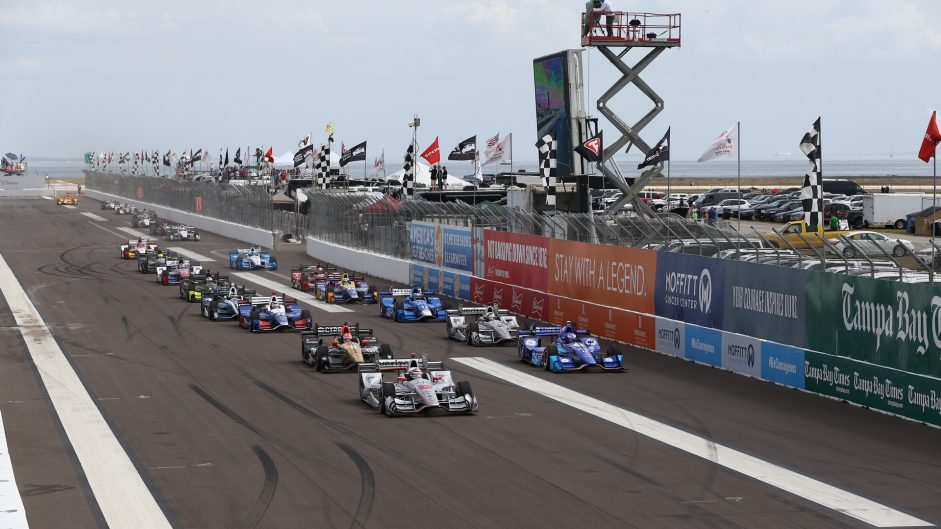 Last-to-first victory in IndyCar season opener