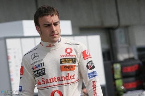 Fernando Alonso, McLaren, Indianapolis, 2007