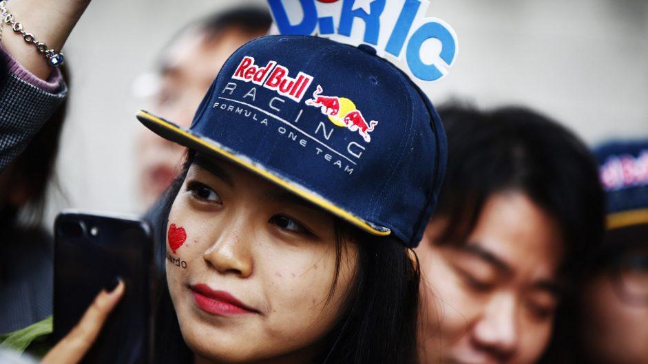 Daniel Ricciardo fan, Shanghai International Circuit, 2017