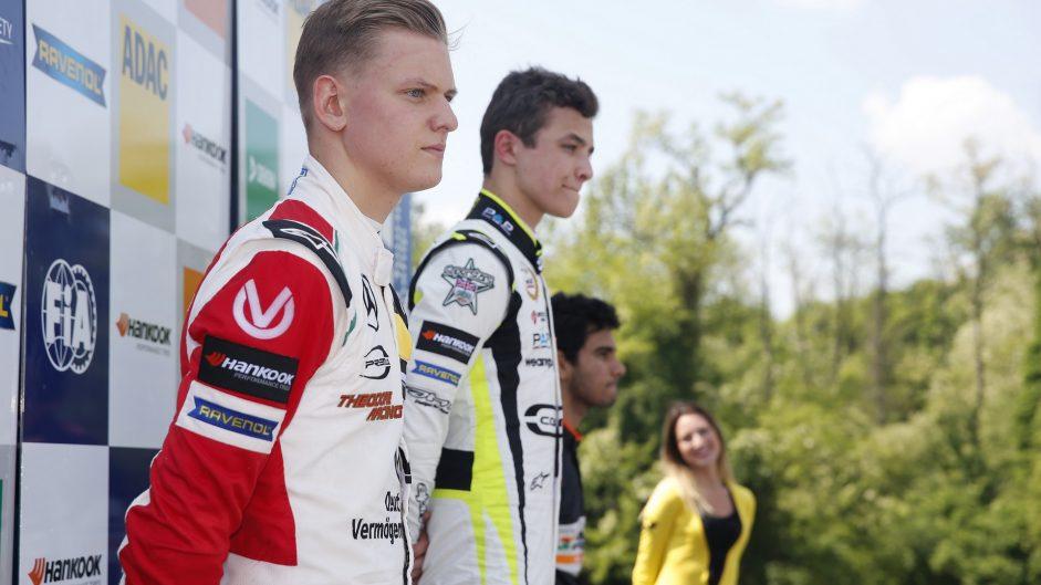 Schumacher name returns to Formula Three podium