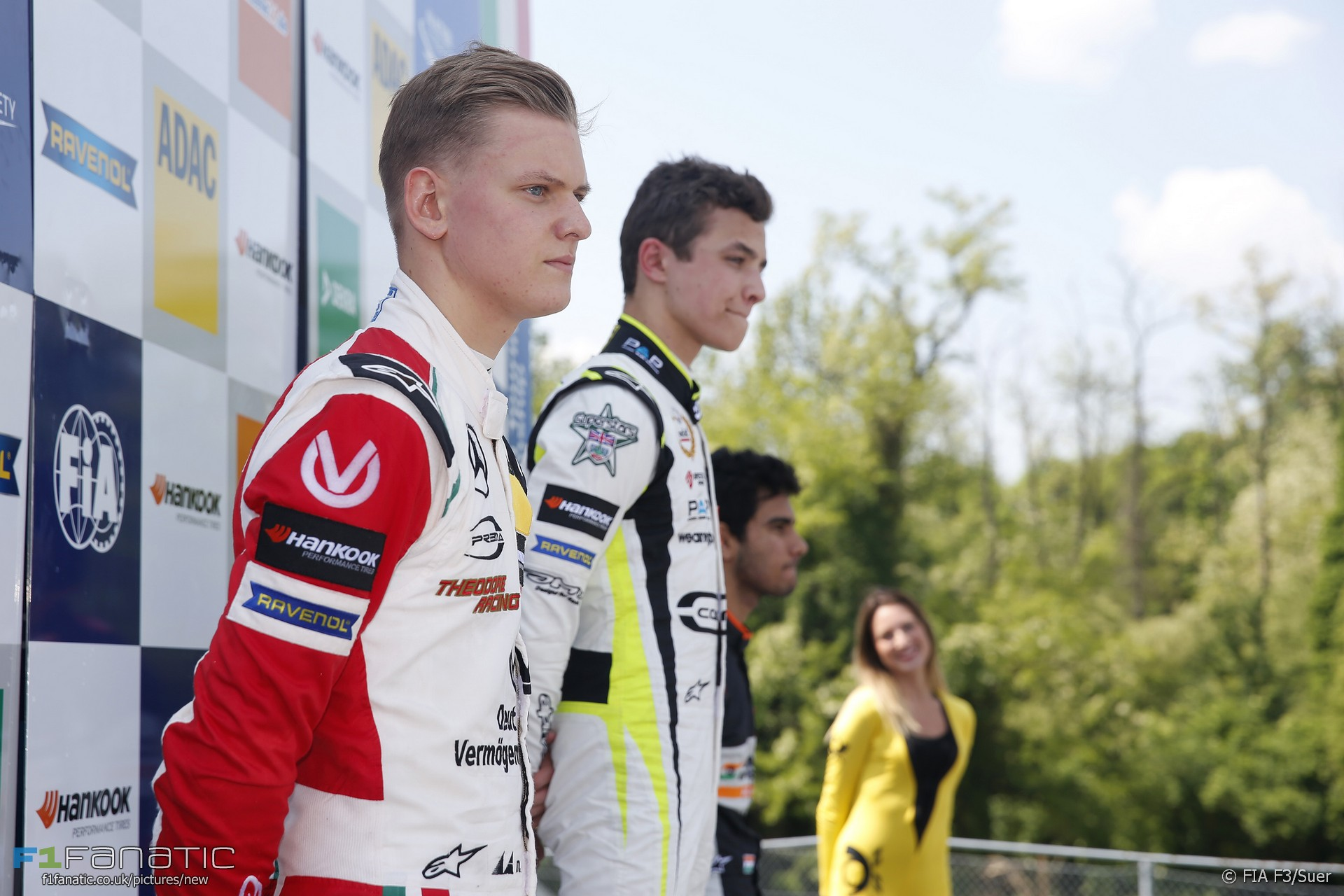 Mick Schumacher, Lando Norris, Jehan Daruvala, Monza, F3, 2017