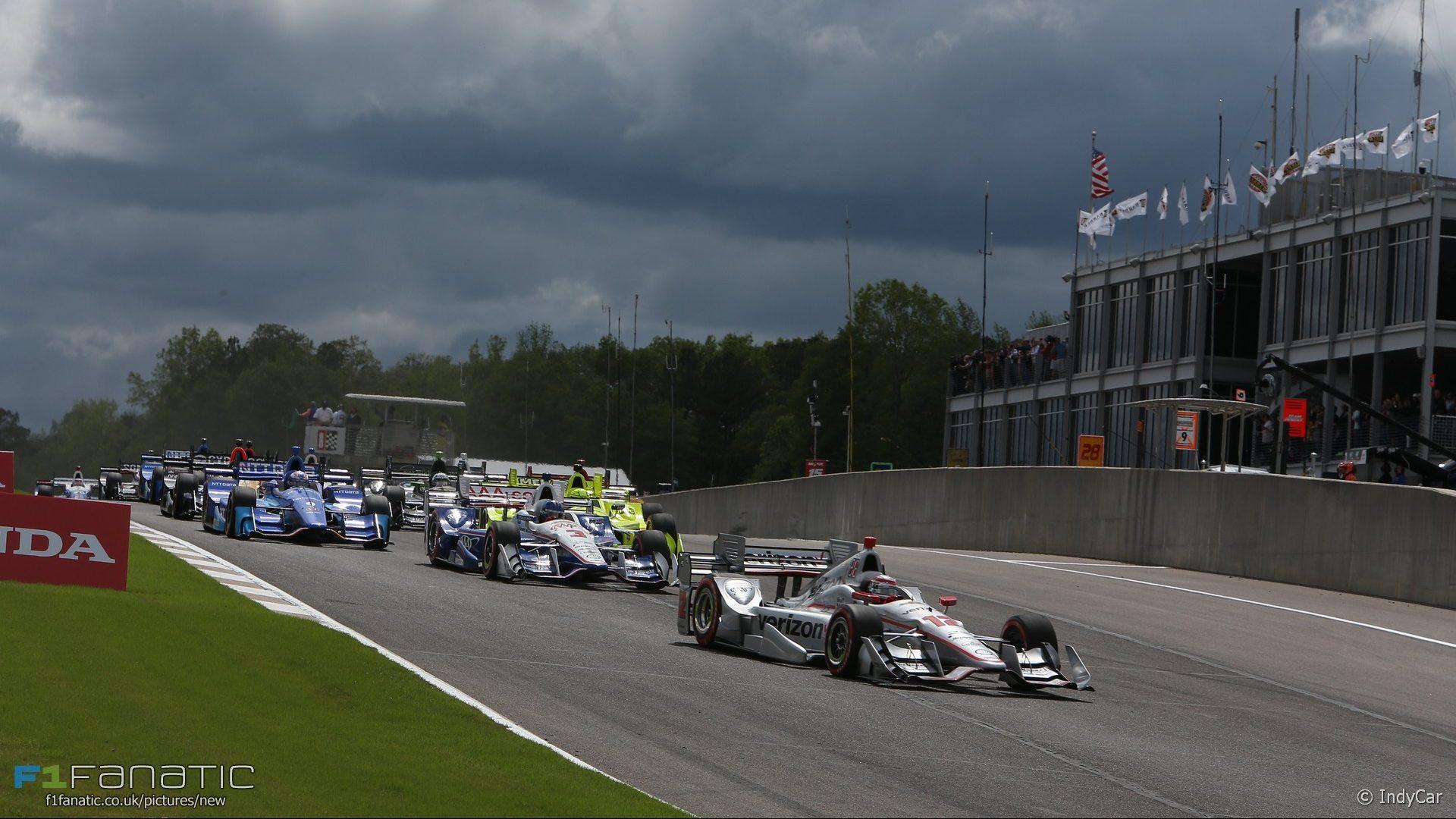 Start, IndyCar, Barber Motorsports Park, 2017