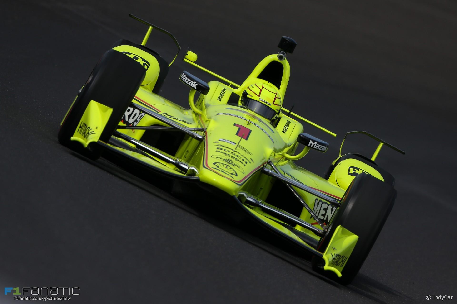 Simon Pagenaud, Penske, IndyCar, Indianapolis, 2017