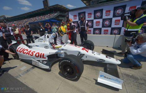 Simon Pagenaud, Indianapolis 500, 2014