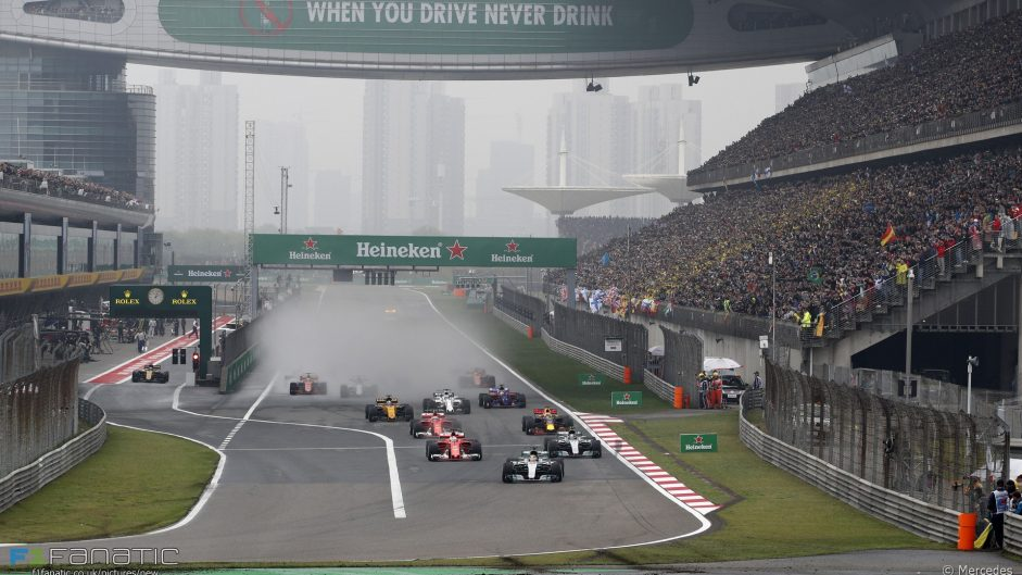 F1 may add second race in China