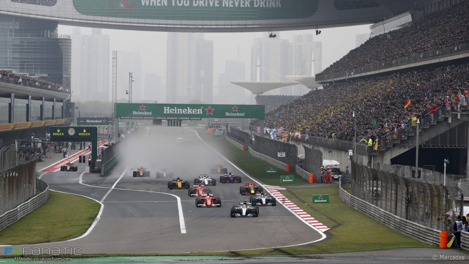 F1 confirms new Chinese GP contract and date change