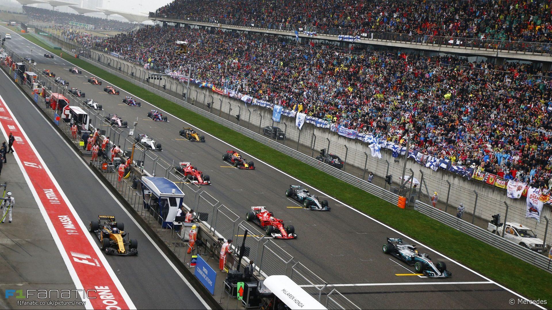 Grid, Shanghai International Circuit, 2017