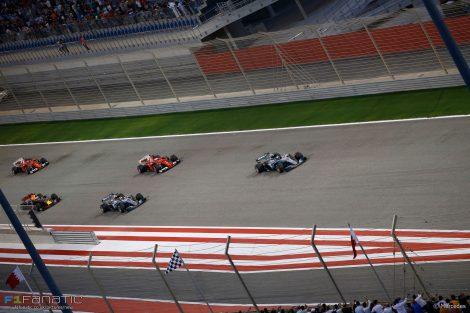 Start, Bahrain International Circuit, 2017