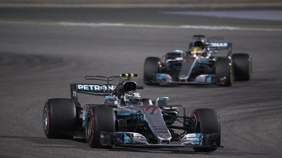 2017 Bahrain Grand Prix team radio transcript