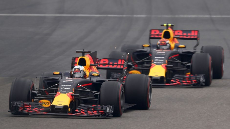 2017 F1 team mate battles: Verstappen vs Ricciardo at Red Bull