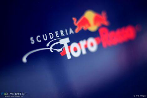 Toro Rosso logo, Shanghai International Circuit, 2017