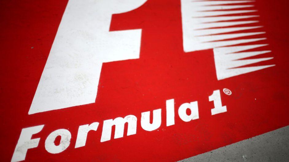 F1 logo, Shanghai International Circuit, 2017