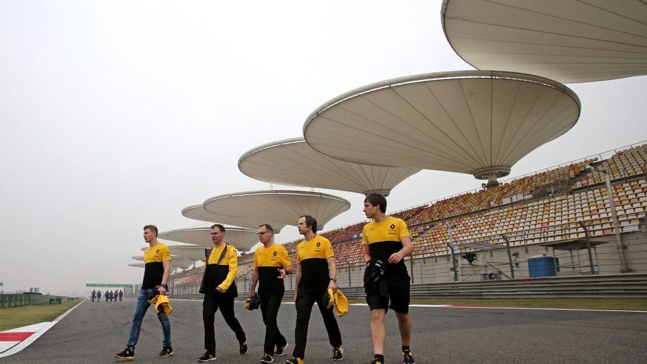Sergey Sirotkin, Renault, Shanghai International Circuit, 2017