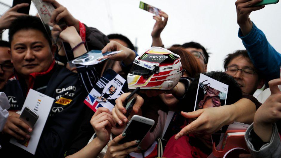 Fans, Shanghai International Circuit, 2017