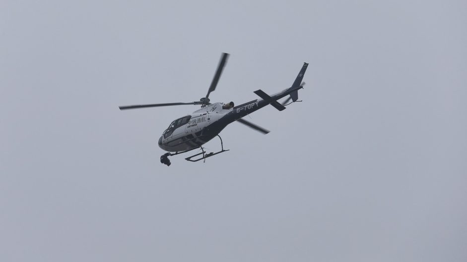 Television helicopter, Shanghai International Circuit, 2017