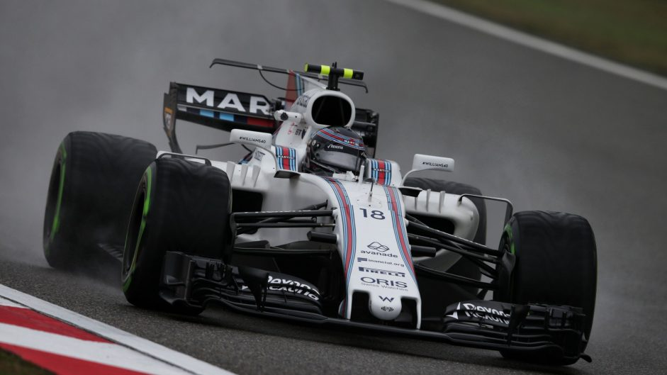 "First wet laps were ""invaluable"" for Williams"