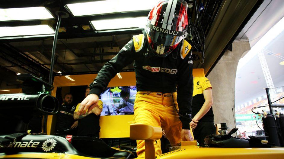 Nico Hulkenberg, Renault, Shanghai International Circuit, 2017