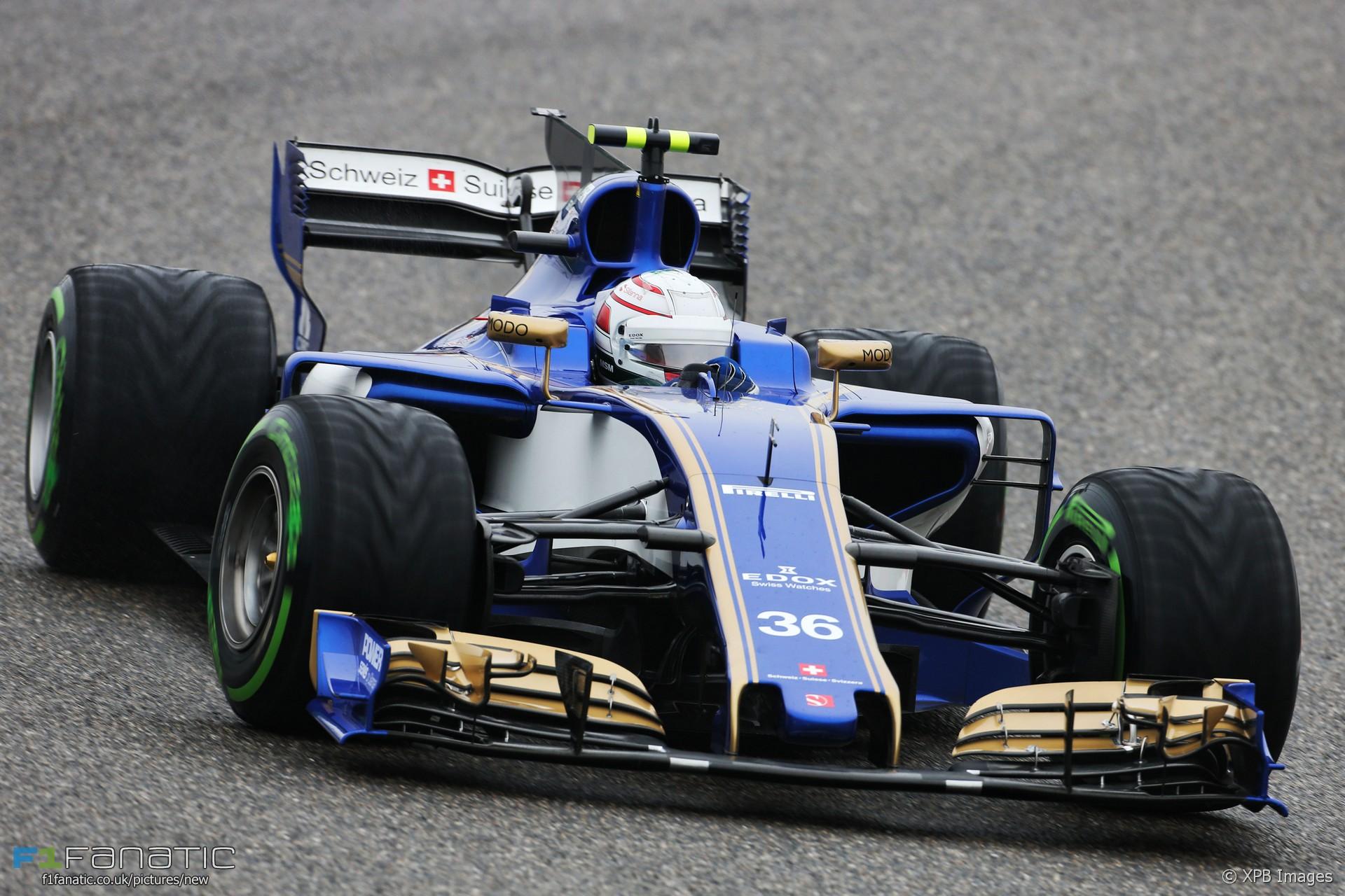 Antonio Giovinazzi, Sauber, Shanghai International Circuit, 2017