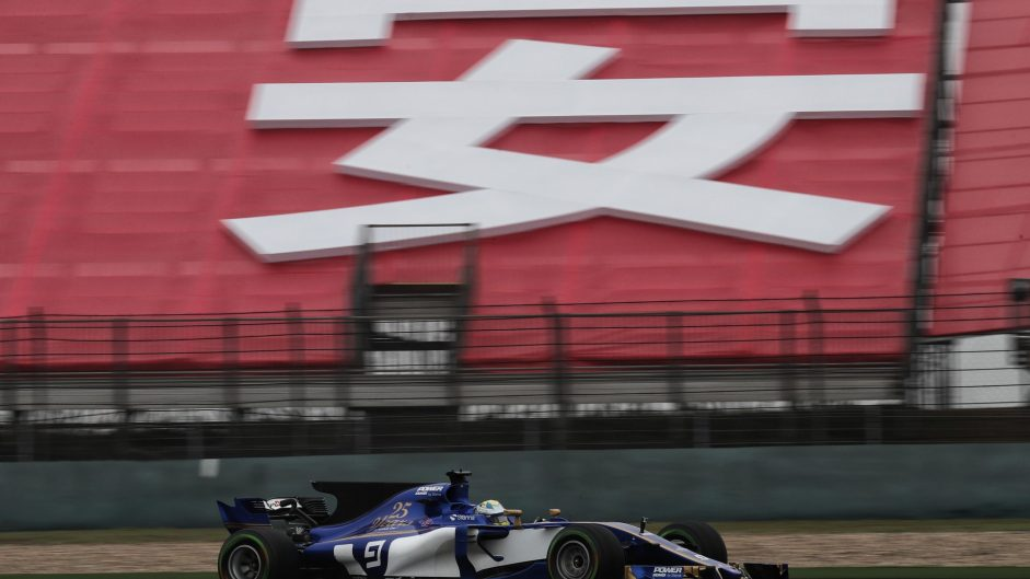 Marcus Ericsson, Sauber, Shanghai International Circuit, 2017