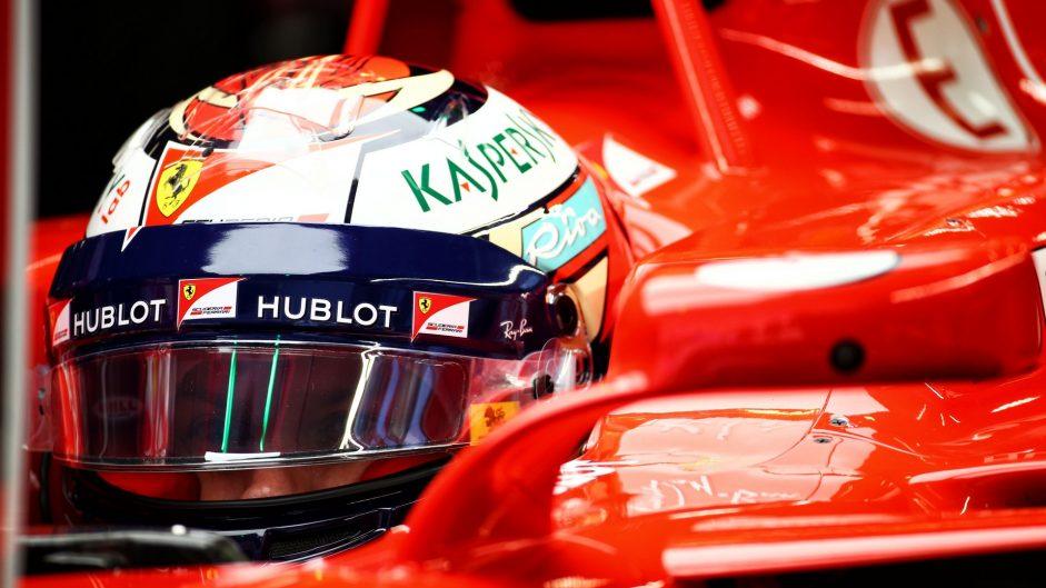 Kimi Raikkonen, Ferrari, Shanghai International Circuit, 2017