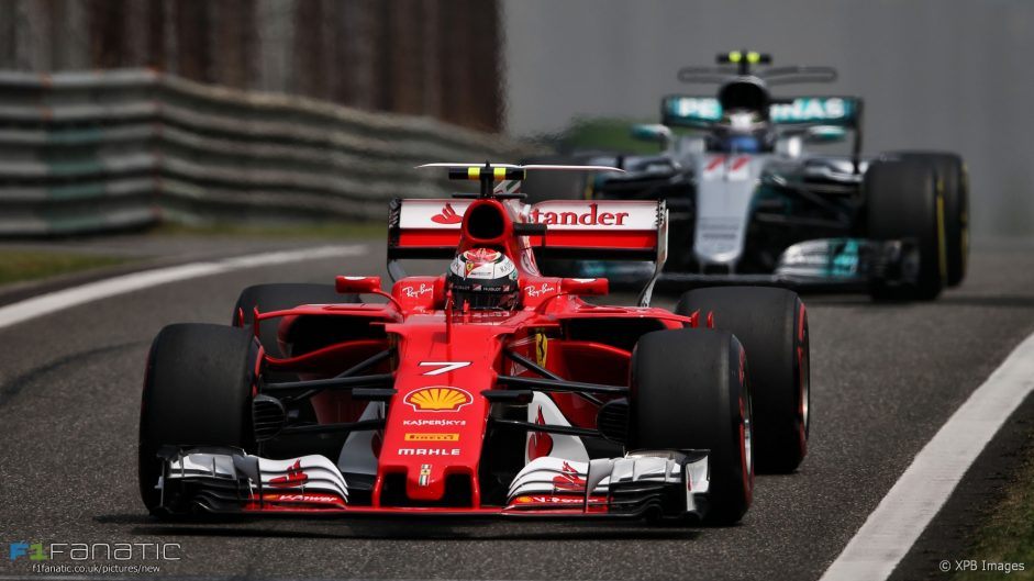 Ferrari lead Mercedes in final practice