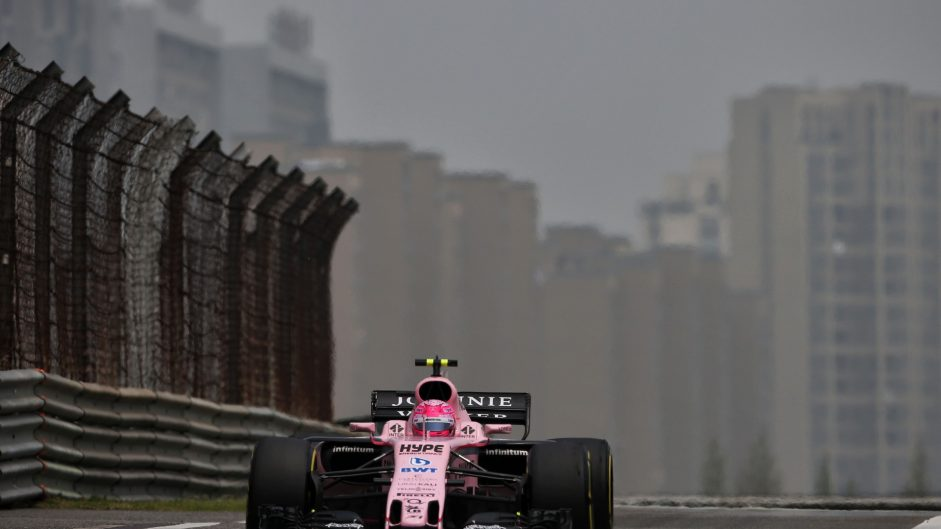Esteban Ocon, Force India, Shanghai International Circuit, 2017