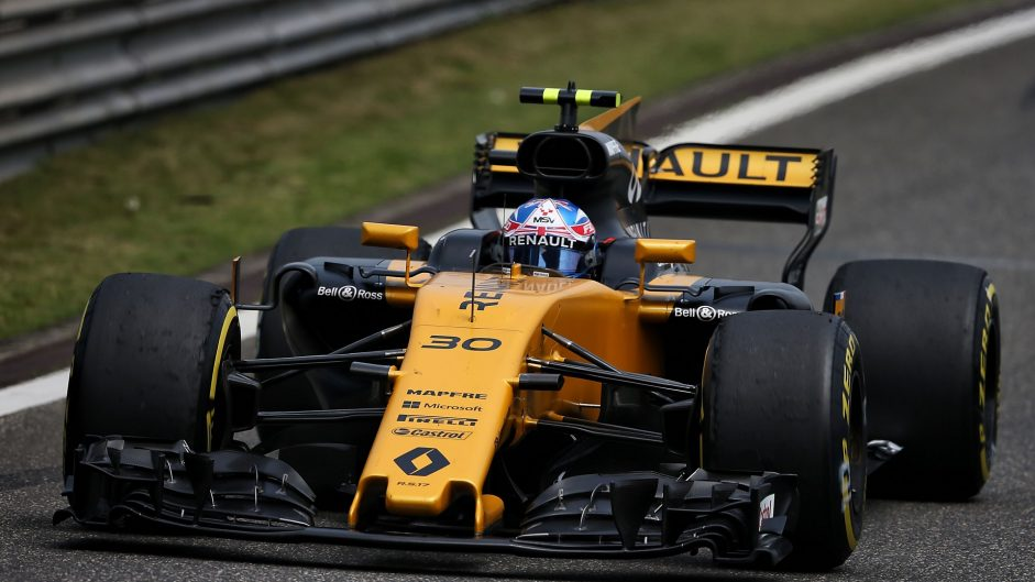 Jolyon Palmer, Renault, Shanghai International Circuit, 2017